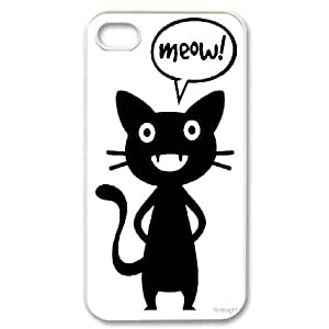 Custom cat Cell Phone Case, DIY cat Cover for iPhone 4,4S