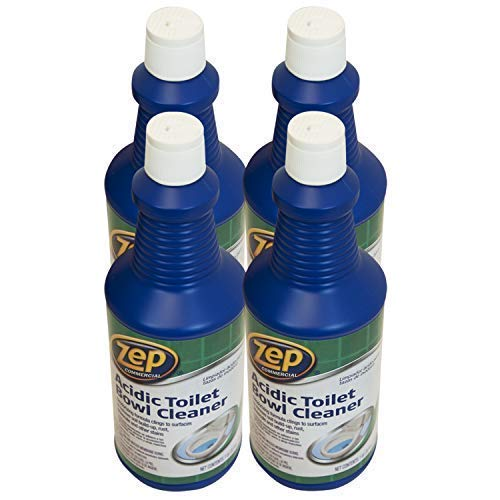 Zep Acidic Toilet Bowl Cleaner 32 ounce (Case of 4) (Acid Bowl Cleaner)