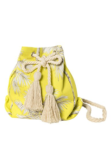 Bag Women's Sun Beach A Yellow Bucket Of vqXnwp