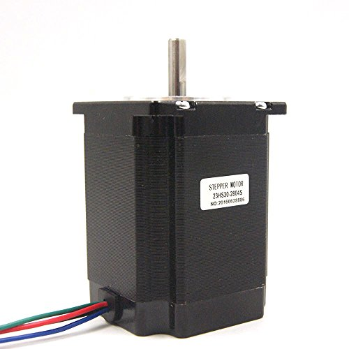 Nema 23 Stepper Motor 2.8A 1.9Nm (269oz.in) 76mm Length for CNC Mill Lathe Router by HobbyUnlimited