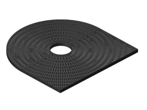 Tree Grate (PolyGrate TSB55C, 5' Square / Round Combo Tree Grate)