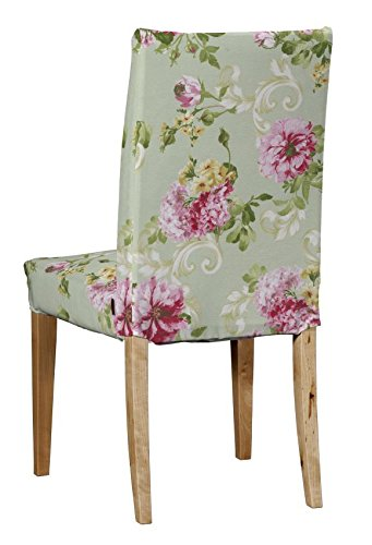 Terrific Dekoria Ikea Henriksdal Chair Cover Pink Peonies On Mint Pdpeps Interior Chair Design Pdpepsorg