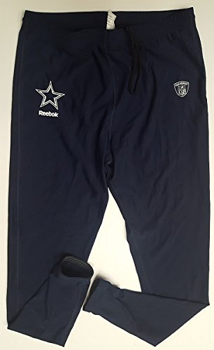 Dallas Cowboys Compression Pants with Elastic Bottom Under Jerseys GAME USED from Oxnard Training Camp 3XL
