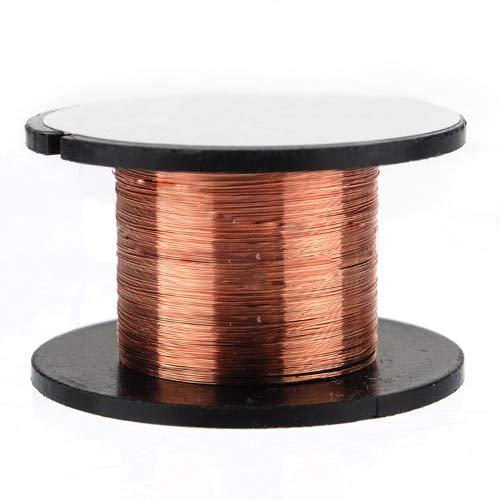 Jammas Hot Sale 15m 0.1MM Copper Soldering Solder Enamelled Reel Wire Roll Connecting