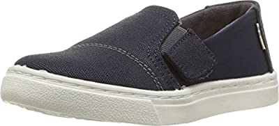 TOMS Luca Shoe Navy Nylon/Textural Canvas Size 3 M US Toddler