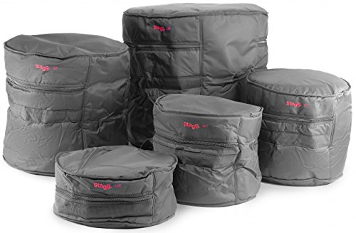 Stagg PBS-1 ECO/5 5 Piece Economy Drum Bag Set ()