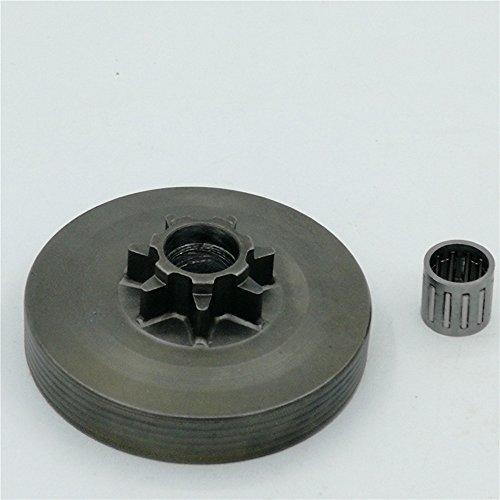 shiosheng 4500 5200 5800 Chainsaw Sprocket Rim Clutch Drum One Body wtih Needle Bearing Set -
