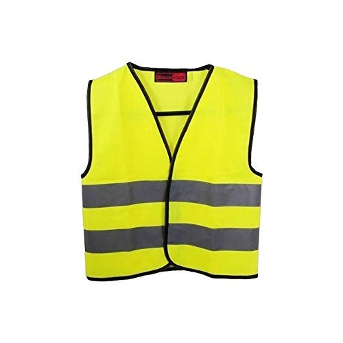 High Visibility Childrens Safety Vest Waistcoat Jacket Small Size