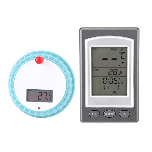 Walfront Wireless Digital Disply Swimming Pool Thermometer SPA Floating Thermometer