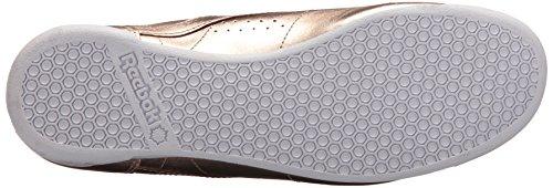 Reebok Kvindernes F / S Hi Metallisk Sneaker Pink Guld / Hvid / Sølv Pæon VRH77VuKQ