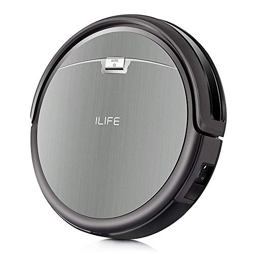 ILIFE A4s Robotic Vacuum Cleaner with Powerful Suction, Self-Charging, Super Quiet Design, Remote Control Cleaning Robot for Thin Carpet and Hard Floor