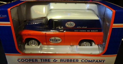 Cooper Tires 1957 Chevrolet Panel Delivery Die Cast Coin Bank