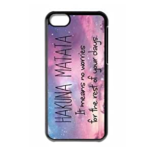 Hakuna Matata ZLB542378 Custom Case for Iphone 5C, Iphone 5C Case