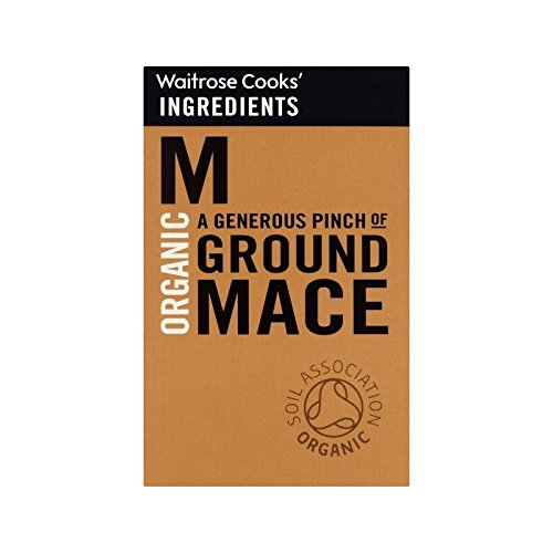 Cooks' Ingredients Organic Ground Mace Waitrose 35g - Pack of 6