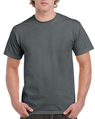 Dark Heather Ultra Cotton - Gildan Men's Ultra Cotton Tee Extended Sizes, Charcoal, XX-Large