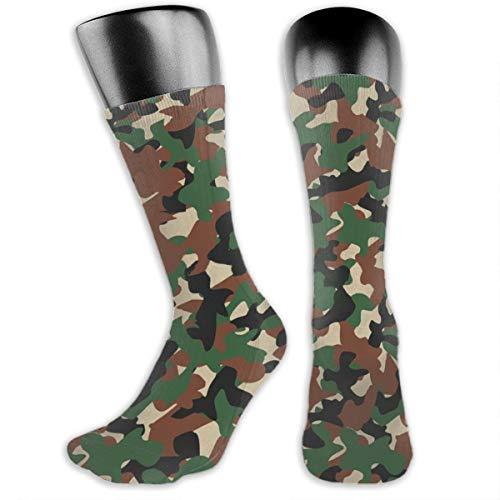 Chaussettes militaires Camo pour homme de randonnée et d'athlétisme, évacuant l'humidité, pour le terrking, les sports… 2