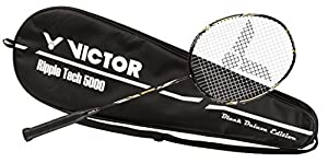 Badmintonschläger VICTOR RIPPLE TECH 5000 Black Deluxe Edition