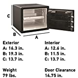 SentrySafe SFW082F Fireproof Waterproof Safe with