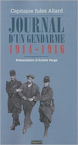 Télécharger des ebooks en ligne Journal d'un gendarme 1914-1916 en français RTF