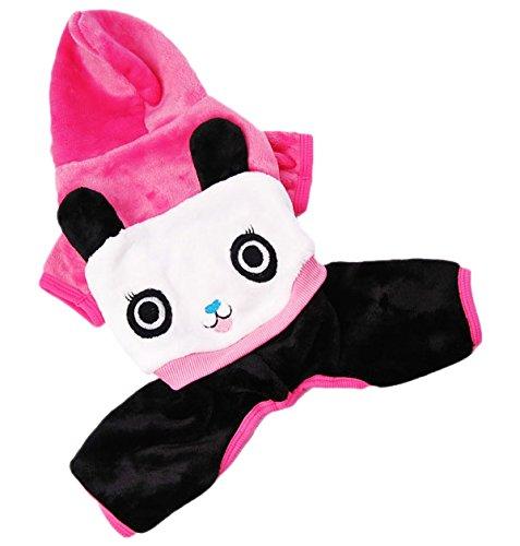 SMALLLEE_LUCKY_STORE Panda Pattern Lovers Sweat