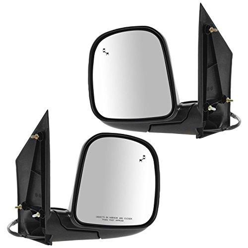 POWER HEATED Mirrors Pair for 96-02 Chevy Express Savana