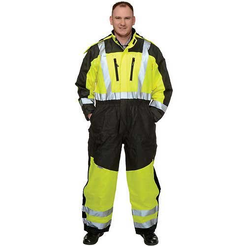Occunomix SP-CVL-BY2X Speed Collection Premium Cold Weather Coverall, XX-Large, Yellow