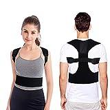 Posture Corrector for Women & Men Under Clothes Adjustable Shoulder Belt for Slouching