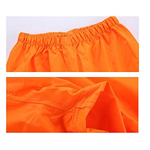 Dimensioni Orange E Impermeabili Dqmsb Uomo colore Piumini Orange Split Impermeabile Doppio Donna All'aperto M Adulto Tuta O0x7qw50