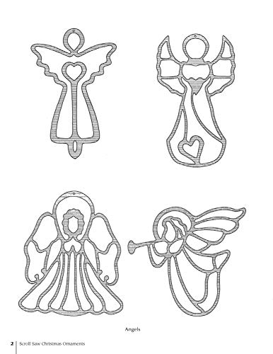 Drawings Of Christmas Ornaments.Scroll Saw Christmas Ornaments More Than 200 Patterns