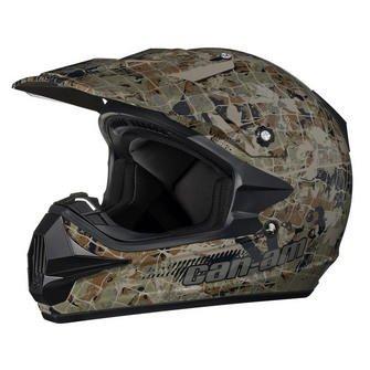 CAN-AM xc-3 camuflaje casco