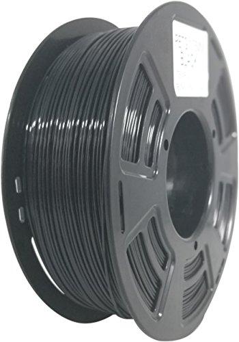 Stronghero3D 3D Printer PETG Filament 1.75mm black -1kg Spool (2.2 lbs) Diameter Tolerance +/- 0.05 mm by Stronghero3D