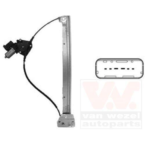 Van Wezel 3797263 L/ève-vitre /électrique-moteur gauche 2P