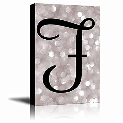 The Letter F in Brush Stroke Cursive on...32