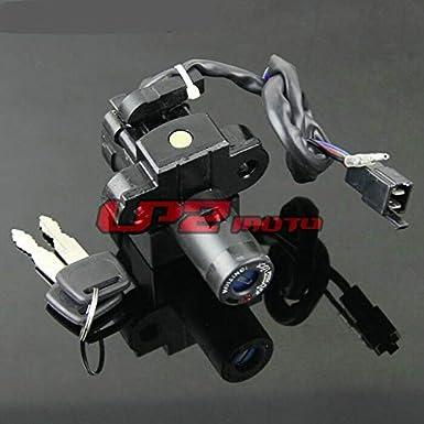 Fuel Gas Tank Cap Cover Lock Set Fits Honda CBR250 MC19 MC22 1988-1994 CB400SF