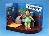 Simpsons Bowl-A-Rama playset with talking Pin Pal Apu figure