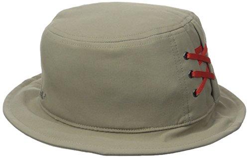 (prAna Women's Zion Bucket Hat, Dark Khaki, Large/X-Large)