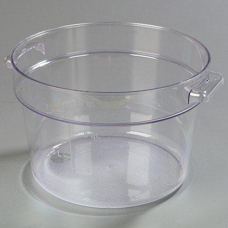 Carlisle 1076707 StorPlus Polycarbonate Round Food Storage C