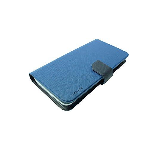 Fenice Diario Universal   für 5,5 Smartphones   blau/