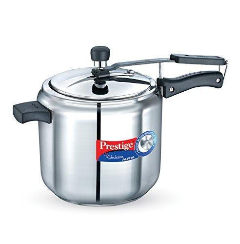 Prestige Nakshatra Alpha Stainless Steel Pressure Cooker, 3.5 Litres