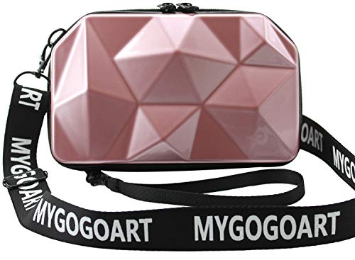 MYGOGOART Hard Shell Comestic Ca...