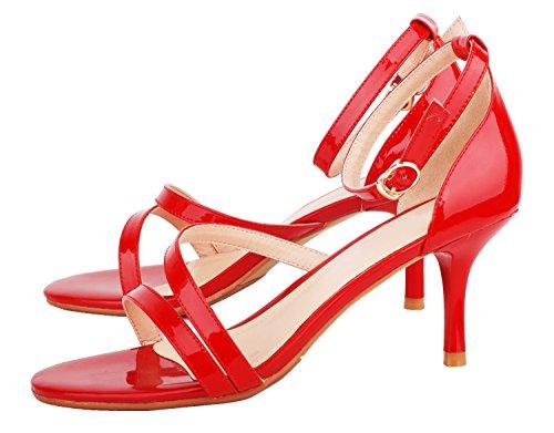 NIUERTE Wife, Montants femme - Rouge - Red,
