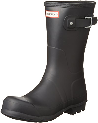 Short Calf Mid Men's Hunter Rubber Nero Original Boot 4xTqZEO