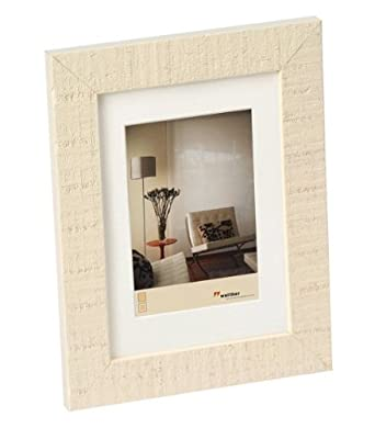 Amazon.com: walther design HO015W Home wooden picture frame, 4 x 6 ...