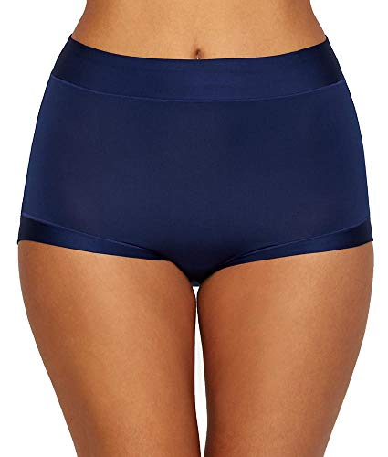 Warner's Women's Easy Does It Brief Panty, Navy Ink, XL/2XL