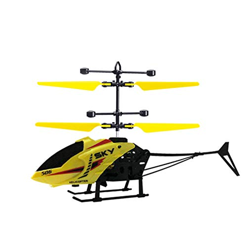 Martinimble Remote Control Helicopter with Light USB Charging Low Noise for 3-8Y Kids Boys Toys(Remote Control Distance:30-50m,Life time:8-10 Minutes)