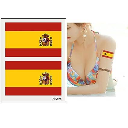 España Nacional banderas copa del mundo de fútbol de 2018 temporal ...