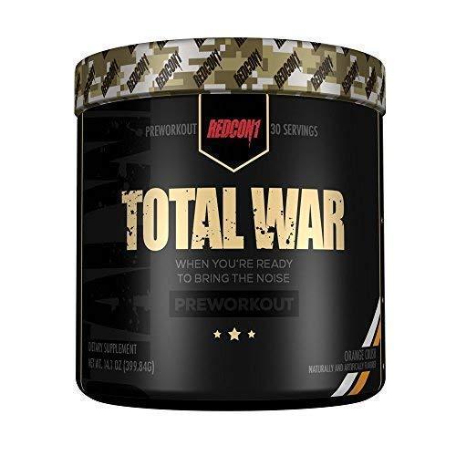 Total War - Pre Workout - New Formula (Orange Crush)
