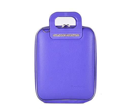 Bombata Bag Firenze Briefcase for 11 Inch Laptop - Violet