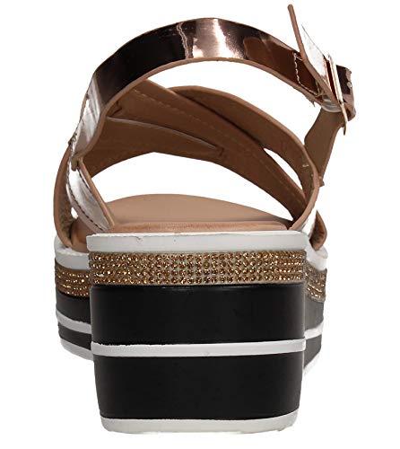 Caviglia Cinturino Donna Swankyswans Con Rose Alla Gold 7gwt8xq85