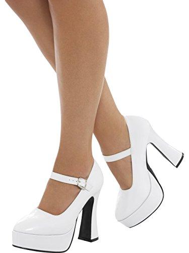 us Smiffys Ladies Platform 7 4 Shoe 43075s 70's uk r00qSWOP6w